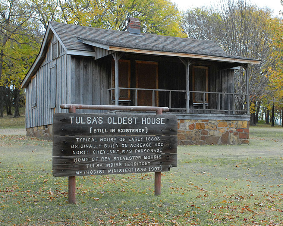 Oldest house in tulsa bette l hall 39 s running journal for Build on your lot oklahoma